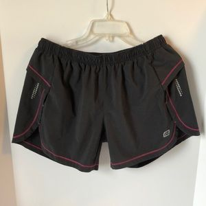 Road Runner Womens Workout  Lined Shorts Velocity